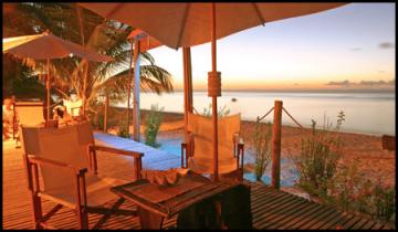 Terrasse Maningory, Île Aux-Nattes, Sainte-Marie, Madagascar